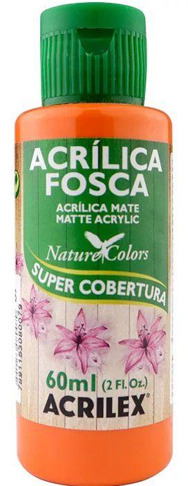 TINTA ACRILICA FOSCA CENOURA NAT. COLORS 60 ML ACRILEX