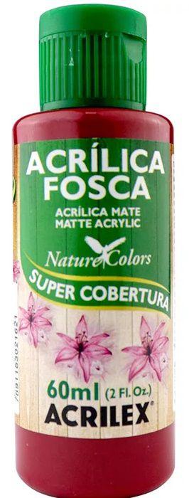 TINTA ACRILICA FOSCA CEREJA NAT. COLORS 60 ML ACRILEX