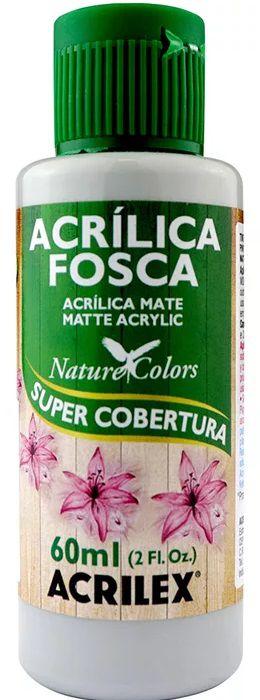 TINTA ACRILICA FOSCA CINZA NAT. COLORS 60 ML ACRILEX