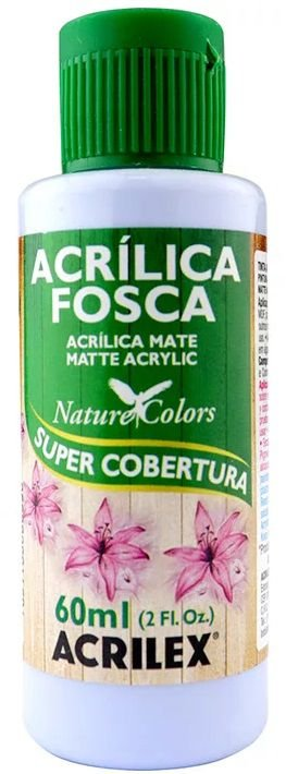 TINTA ACRILICA FOSCA LAVANDA NAT. COLORS 60 ML ACRILEX