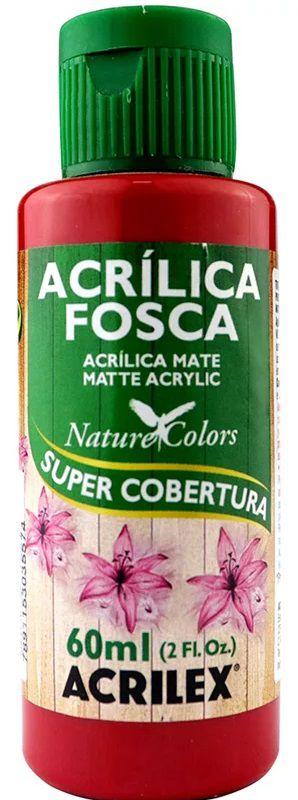 TINTA ACRILICA FOSCA PURPURA NAT. COLORS 60 ML ACRILEX