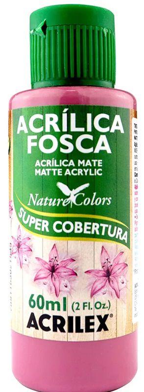 TINTA ACRILICA FOSCA ROSA CICLAME NAT. COLORS 60 ML ACRILEX
