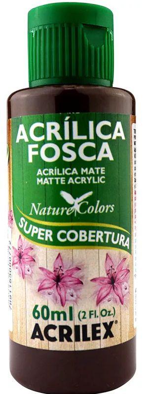 TINTA ACRILICA FOSCA RÚSTICO NAT. COLORS 60 ML ACRILEX