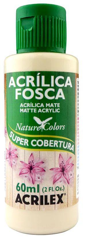 TINTA ACRILICA FOSCA SAARA NAT. COLORS 60 ML ACRILEX