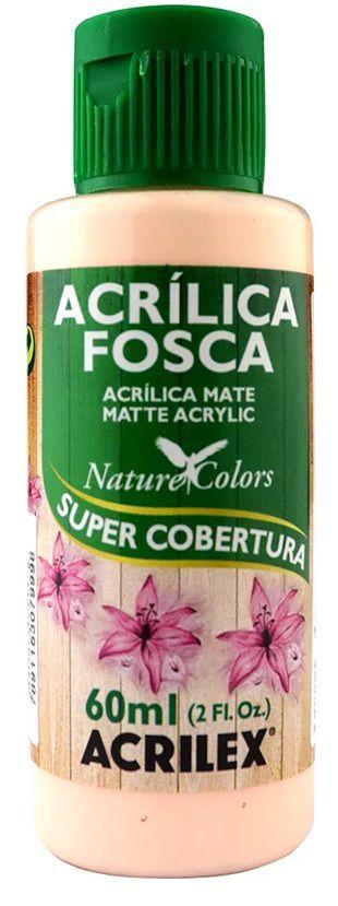 TINTA ACRILICA FOSCA SALMAO BEBE NAT. COLORS 60 ML ACRILEX