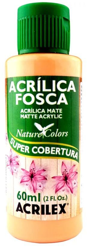 TINTA ACRILICA FOSCA SALMÃO NAT. COLORS 60 ML ACRILEX