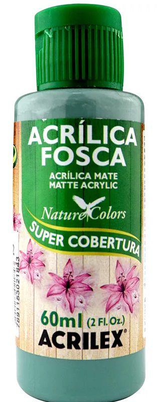 TINTA ACRILICA FOSCA VERDE COUNTRY NAT. COLORS 60 ML ACRILEX