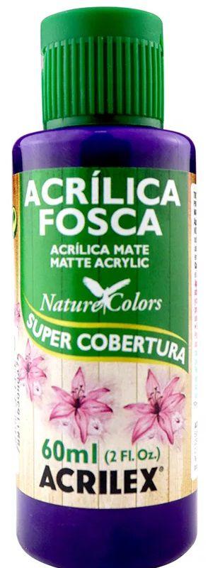 TINTA ACRILICA FOSCA VIOLETA COBAL NAT. COLORS 60 ML ACRILEX