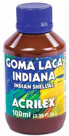 GOMA LACA INDIANA ACRILEX 100 ML ARABIC GUM VARNISH