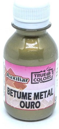 BETUME METAL TRUE COLORS OURO 100 ML