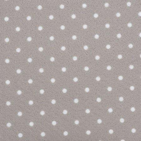 Feltro Color Baby Poá Santa Fé Cor 513536 cinza claro - Medidas 0,40x1,40