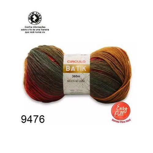 FIO BATIK CIRCULO 100G COR 9476