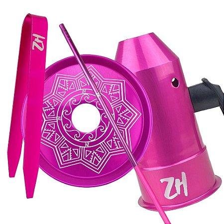 Kit Acessórios para Narguile - Rosa KIT17
