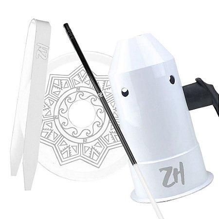 Kit Acessórios para Narguile - Branco KIT13