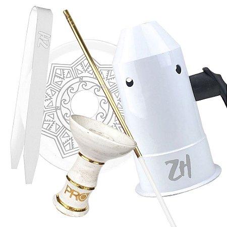 Kit Acessórios para Narguile - Branco KIT22