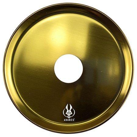 Prato Anubis P 18cm - Dourado