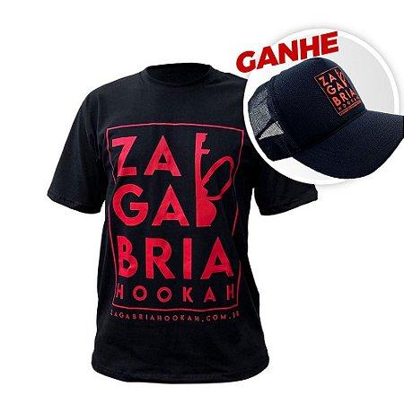 Camiseta Zagabria Hookah + Brinde Boné