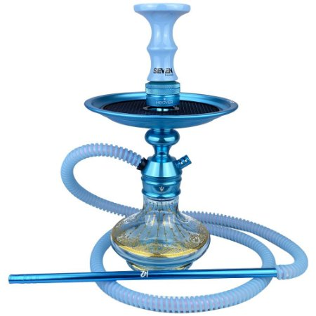 Kit Narguile Completo Triton Zip - Azul Claro KIT555
