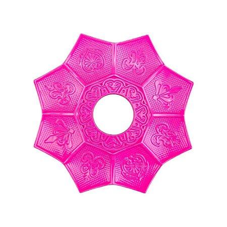 Prato EBS Hookah New Lotus Mini 16cm - Rosa Escuro