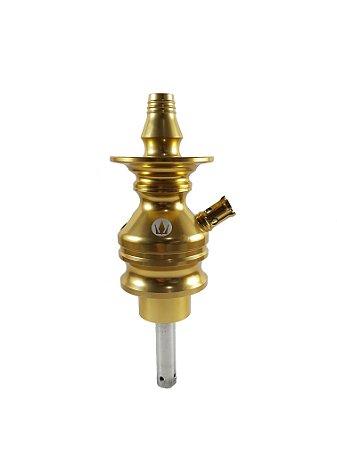 Stem Hookah King Tower - Dourado