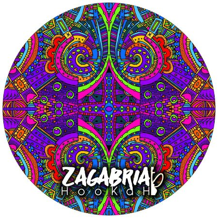 "Tapete Zagabria Hookah ""Psychedelic"""