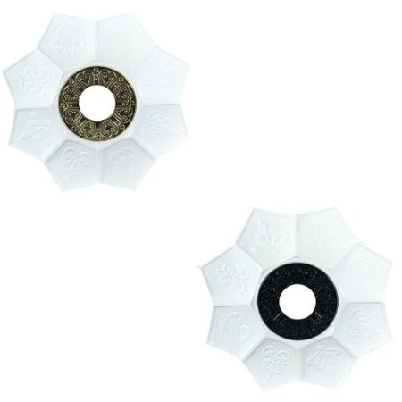 Prato EBS Hookah New Lotus 18cm P - Escolha a Cor