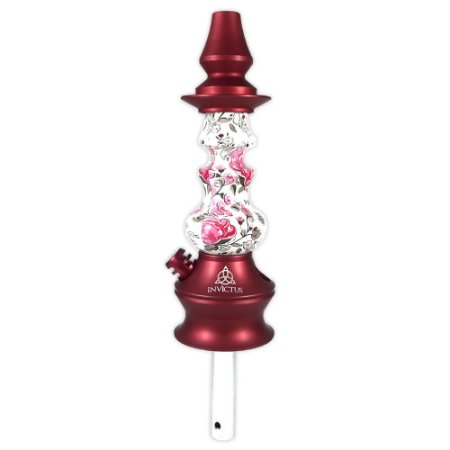 Stem Narguile Invictus Star - Vermelho/Floral