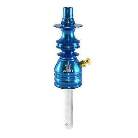 Stem Narguile Valhalla Hookah Pequeno - Azul