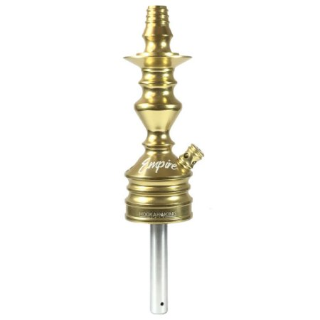 Stem Narguile Hookah King Empire - Dourado
