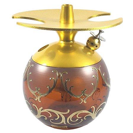 Narguile LittleSorr Egermann Lote 7 - Dourado/Amber