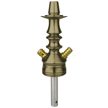 Stem Narguile Invictus F5 Small - Cobre/Dourado