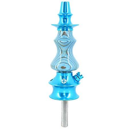 Stem Narguile Amazon Hookah Prime Unique - Azul/Azul