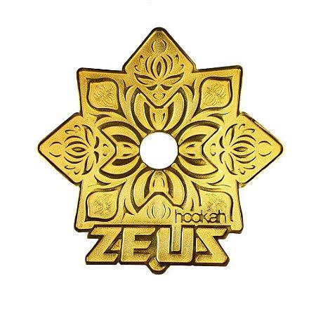 Prato Zeus Hookah Elemental - Dourado