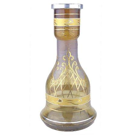 Vaso Sino Egipcio 30cm Tulipa Imperial Amber