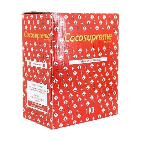 Carvão CocoSupreme Hexagonal - Escolha o Peso