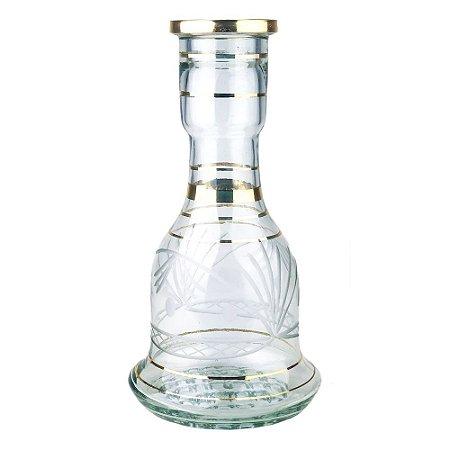 Vaso Sino Egipcio 30cm Transparente - Modelo 1