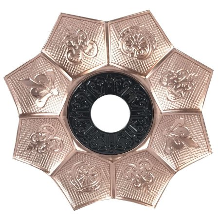 Prato EBS Hookah New Lotus G 27cm - Rosé/Preto