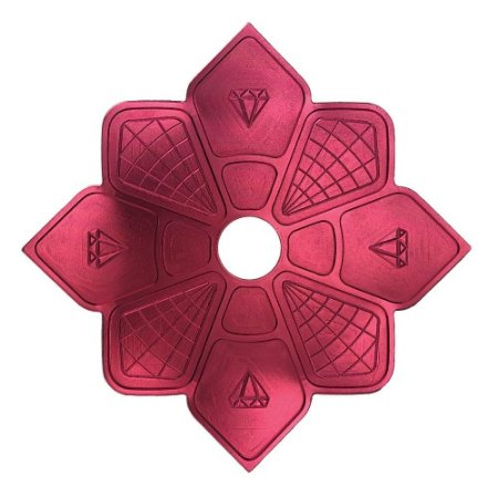 Prato Diamond Hookah - Vermelho