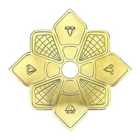 Prato Diamond Hookah - Dourado