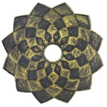Prato VGod Mandala - Dourado