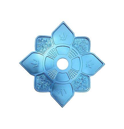 Prato Hookah King Imperial Mini - Azul
