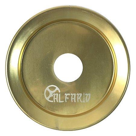 Prato Al Farid Lair Grande 22cm - Dourado