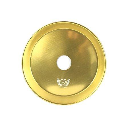 Prato DS Hookah P 17CM - Dourado