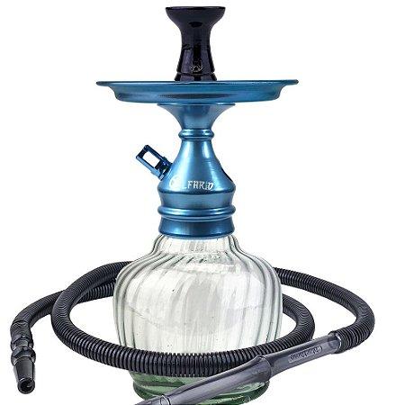 Kit Narguile Completo Al Farid Azul- KIT142
