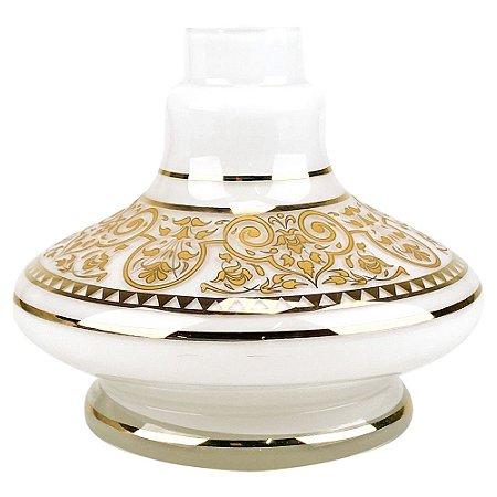 Vaso MD Hookah Mini Aladin 33 B - Branco