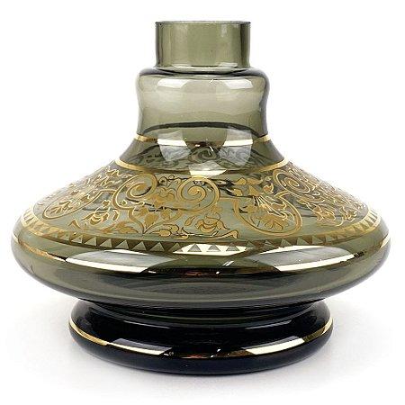 Vaso MD Hookah Mini Aladin 33 B - Fumê