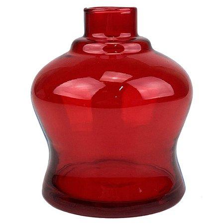 Vaso ZH Mini Ron Liso - Vermelho