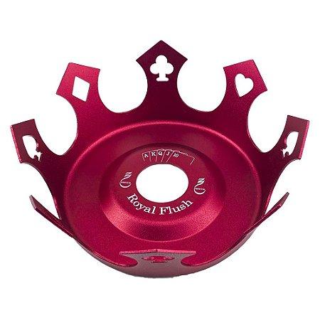 Prato Zenith Coroa Royal Flush - Vermelho