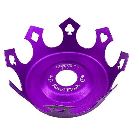 Prato Zenith Coroa Royal Flush - Roxo