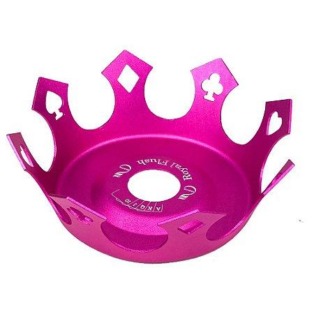Prato Zenith Coroa Royal Flush - Rosa